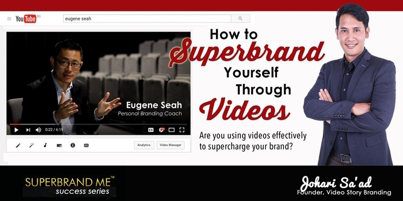 Personal branding development through Videos