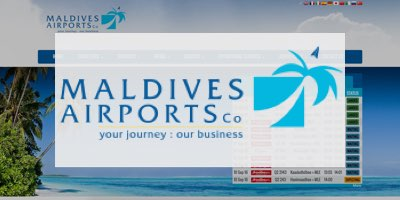 Eugene Speaks at Maldives Airport