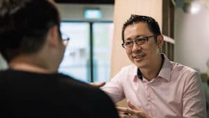 eugene seah interview with happiness notebook