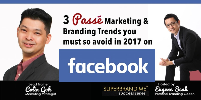 Personal Branding Workshop on Facebook