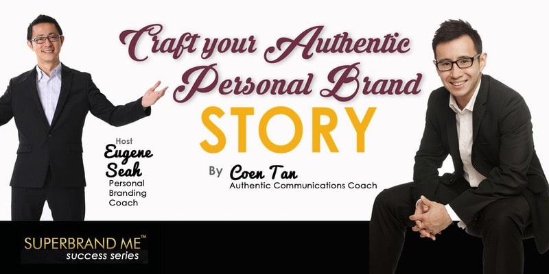 Personal Branding Workshop on Personal Brand Story
