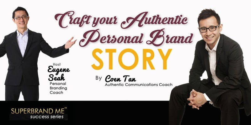 Personal brand story crafting
