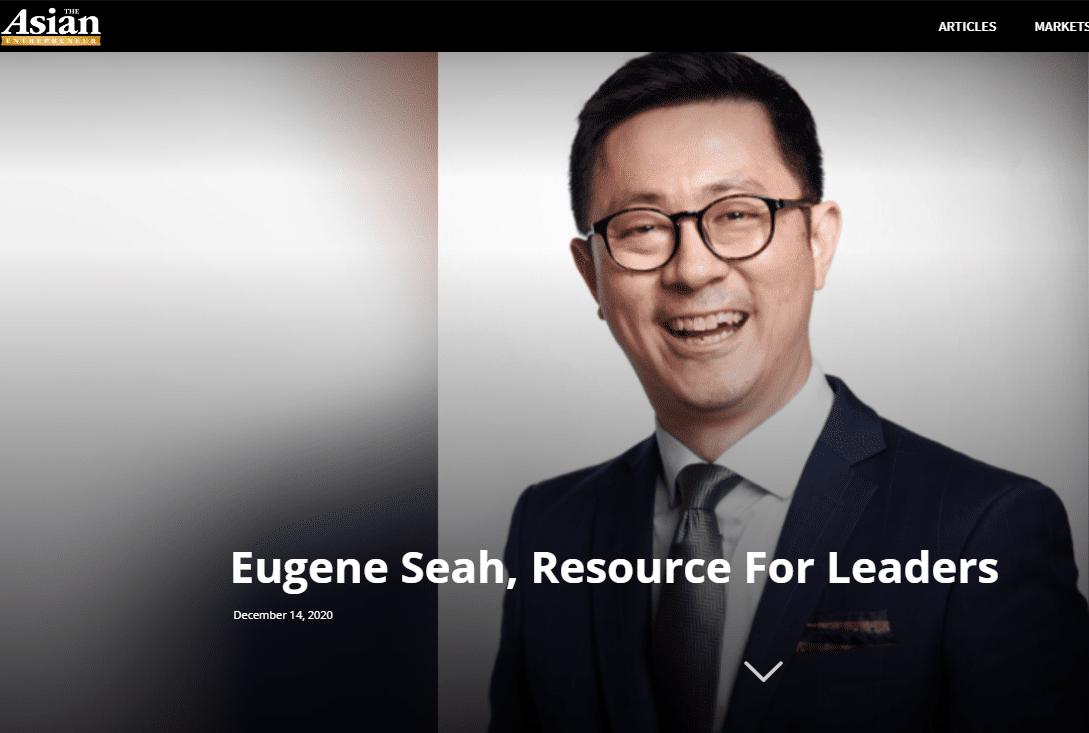asian entrepreneur eugene seah