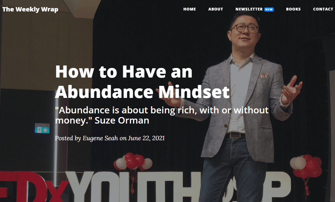 How to have a mindset of abundance